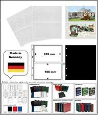 10 LOOK 338575 POSTKARTENHÜLLEN NUMOH 2C NH2C 169x106mm + ZWL-S Für POSTKARTEN