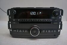 2009 Pontiac Torrent Factory AM/FM CD Radio w Auxiliary Input  25957003 OEM