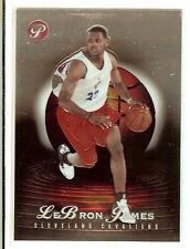 2003/04 LeBron James Topps Pristine #102 RC Rookie Card #38/999