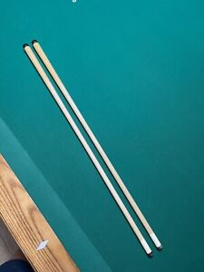 Matched pair Of Original Meucci Red dot Shafts. 12.75mm