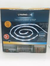 Livarnolux Stick on Led Light Strip 1M Warm White perfect for Kitchen Cupboards