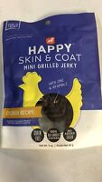 Grain Free Happy Skin & Coat Mini Grilled Jerky Chicken Recipe Dog Treats, 3 OZ