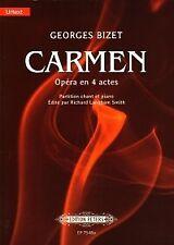 BIZET CARMEN Fr/Eng Vocal Score