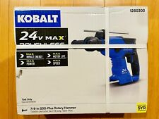 Kobalt 1260303 24 Volt 78 In Sds Plus Cordless Rotary Hammer Drill Tool Only
