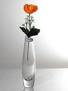TIME TREE Handmade Turkish Slim Egg Glass Bud Vase Height 19cm Diameter 5cm