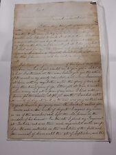 museum qual LETTER AMERICAN CIVIL WAR SOLDIER (North) Manuscript DICKIE MICHIGAN