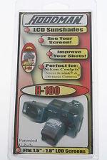 Hoodman h-180 LCD Sunshade pour Nikon Coolpix, Kodak et Olympus APPAREILS PHOTO NEUF!