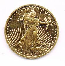 USA - REPRODUCTION en OR 585 ‰ DE LA MONNAIE DOUBLE EAGLE 1933 - ø 20 mm 3.12grs
