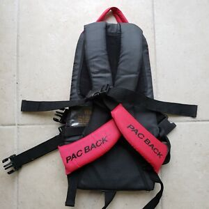 Pac Back Car Seat Carrier Backpack Portable Infant Child Cheeky Monkey