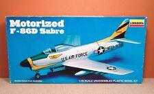 1/48 LINDBERG MOTORIZED F-86D SABRE MODEL KIT # 2334