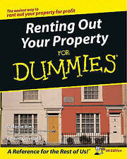 Renting Out Your Property for Dummies UK Edition, Bien, Melanie, Used; Good Book