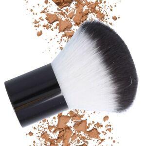 COMPACT BRONZER BRUSH Soft Bristle Face Makeup Powder Apply Kabuki Travel Size