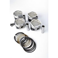 YCP Vitara Pistons 76mm with Manley H-Beam Connecting Rod Combo Kit D16Z6 D16Y8