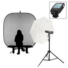 Individual Escuela Portátil Retrato Flash Kit Fuji Batería Accionado Luces 200Ws