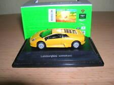 Welly Lamborghini Murcielago Amarillo, 1:87 H0 Nuevo + Ovp
