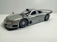 Maisto 1:26 Scale Mercedes CLK-GTR Silver Loose Clean Diecast No Reserve