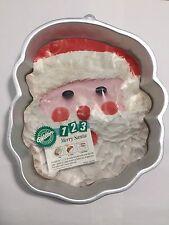 Vintage Wilton Merry Santa Christmas Baking Cake Pan Mold 1991