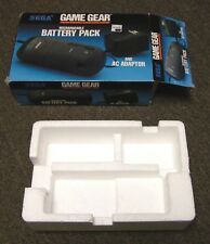 EMPTY Box Only Sega Game Gear Rechargeable Battery Pack and AC Adapter