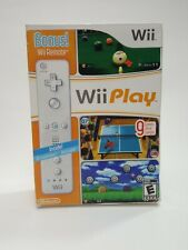Wii Play (Nintendo Wii, 2007) Game Bundle with Wii Remote