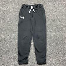 Under Armour Youth Joggers Athletic Pants Sweatpants Sweats Black Size Medium