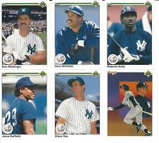 1990 Upper Deck New York Yankees Team Set