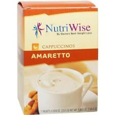 NUTRIWISE | Amaretto Cappuccino | High Protein,Gluten Free, Low Fat, Low Sugar