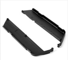 XRAY XB8 Chassis Side Guards L+R w/ Out Ribs - XRA351158 OPEN PACKAGE