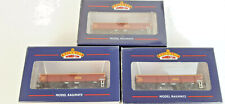 BACHMANN EWS MTA OPEN WAGONS X 3 EXCELLENT CONDITION BOXED OO GAUGE(SX)