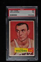 1957 Topps - Win Wilfong - #65 - PSA 7 - NM