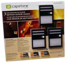 Capstone Wireless Motion Sensor Led Light Indoor Outdoor Security New
