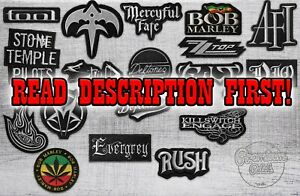 Custom Embroidery Patches any image any logo iron-on sew-on hook and loop