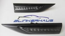 SCHWARZE LED Seitenblinker VW Bus/Transporter T6 Panamericana California 70