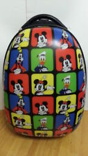 "Heys Disney Mickey Mouse 18"" Hard Luggage Case Kids Rolling Carry On"