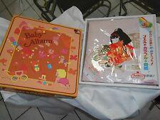 "BABY MEMORY KEEPSAKE BOOK ASIAN CHINA 13"" JAPAN NAKABAYASHI SOUND FABRIC NEW BOX"