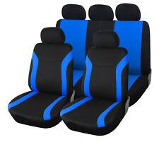 Auto Sitzbezüge schwarz blau Autositz Schonbezug Schonbezüge universal Sitzbezug