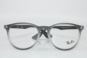 Ray Ban RB7046 5602 Gray Transparent Eyeglasses New Authentic 51