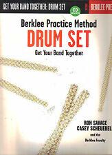 Berklee Practice Method - Drum Set P/B with CD Rock Drumming Tutorial Drums