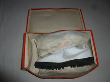 NEW IN BOX VINTAGE 1980S NIKE 3030 SHARK LEATHER MENS SHOES CLEATS SIZE 13 NOS >