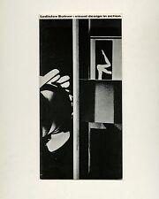1961 Ladislav Sutnar VISUAL DESIGN IN ACTION Graphic Design Exhibition Catalog