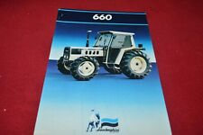 Lamborghini 653 Crawler Tractor Dealer/'s Brochure DCPA2