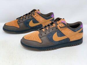 Nike Dunk Low 'Cider' Brown Black Suede Sneaker, Size 15 BNIB DH0601-001