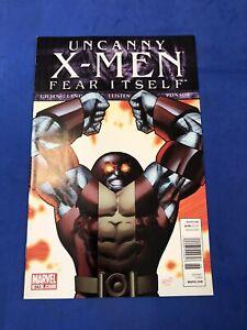 Uncanny X-Men 543 Fear Itself HTF Newsstand Variant Greg Land Marvel Comics 2011