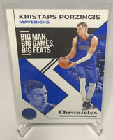 2019-20 NBA Panini Chronicles Kristaps Porzingis #11 Dallas Mavericks