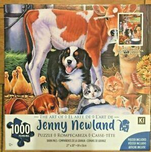 """Barn Pals"" Jenny Newland 1000 Piece Puzzle NEW 12+"