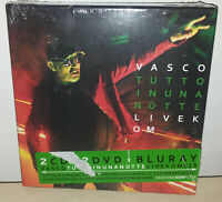 VASCO ROSSI - TUTTO IN UNA NOTTE LIVE KOM - 2 CD + 2 DVD + BLURAY