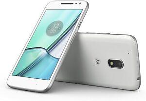 Motorola Moto G4 Play XT1604 White Android 16GB Smartphone Unlocked