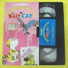 VHS film SUPERCARTOON BILLY THE CAT E GRIMMY Giu'le mani piccioni (F107) no dvd