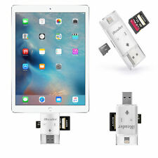 TF SD lettore schede USB Lightning iPad Pro Lettore di schede multimediali iReader