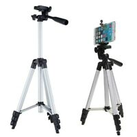 Professional Camera Tripod Stand Mount + Carry Bag for Phone iPhone Samsung