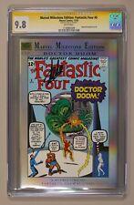 Marvel Milestone Edition Fantastic Four #5 CGC 9.8 SS Stan Lee 1176981009
